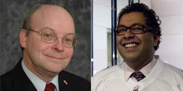 Calgary mayoral candidate Larry Heather took on Naheed Nenshi's faith during and all-candidates' forum.