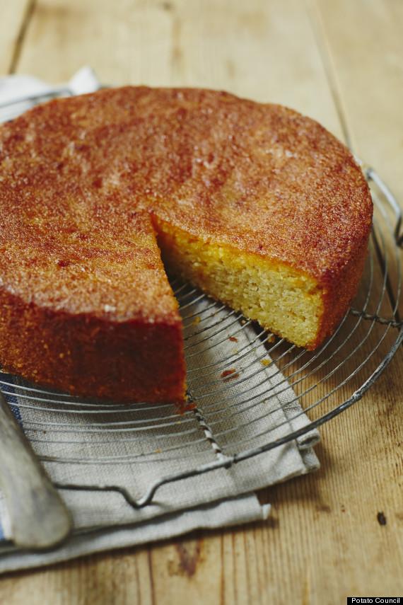 orange potato cake