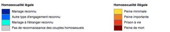 legende homosexuels