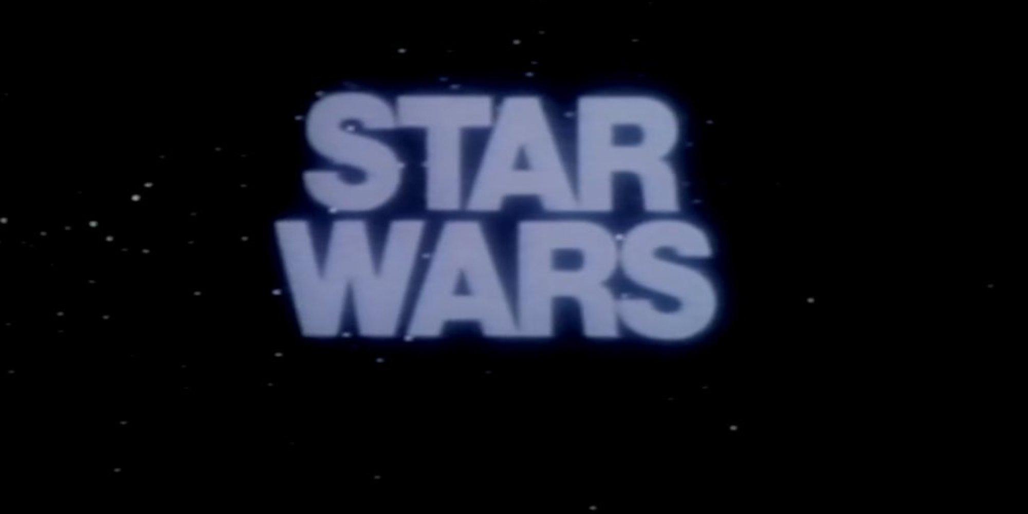 original  u0026 39 star wars u0026 39  trailer surfaces in all its  u0026 39 70s sci