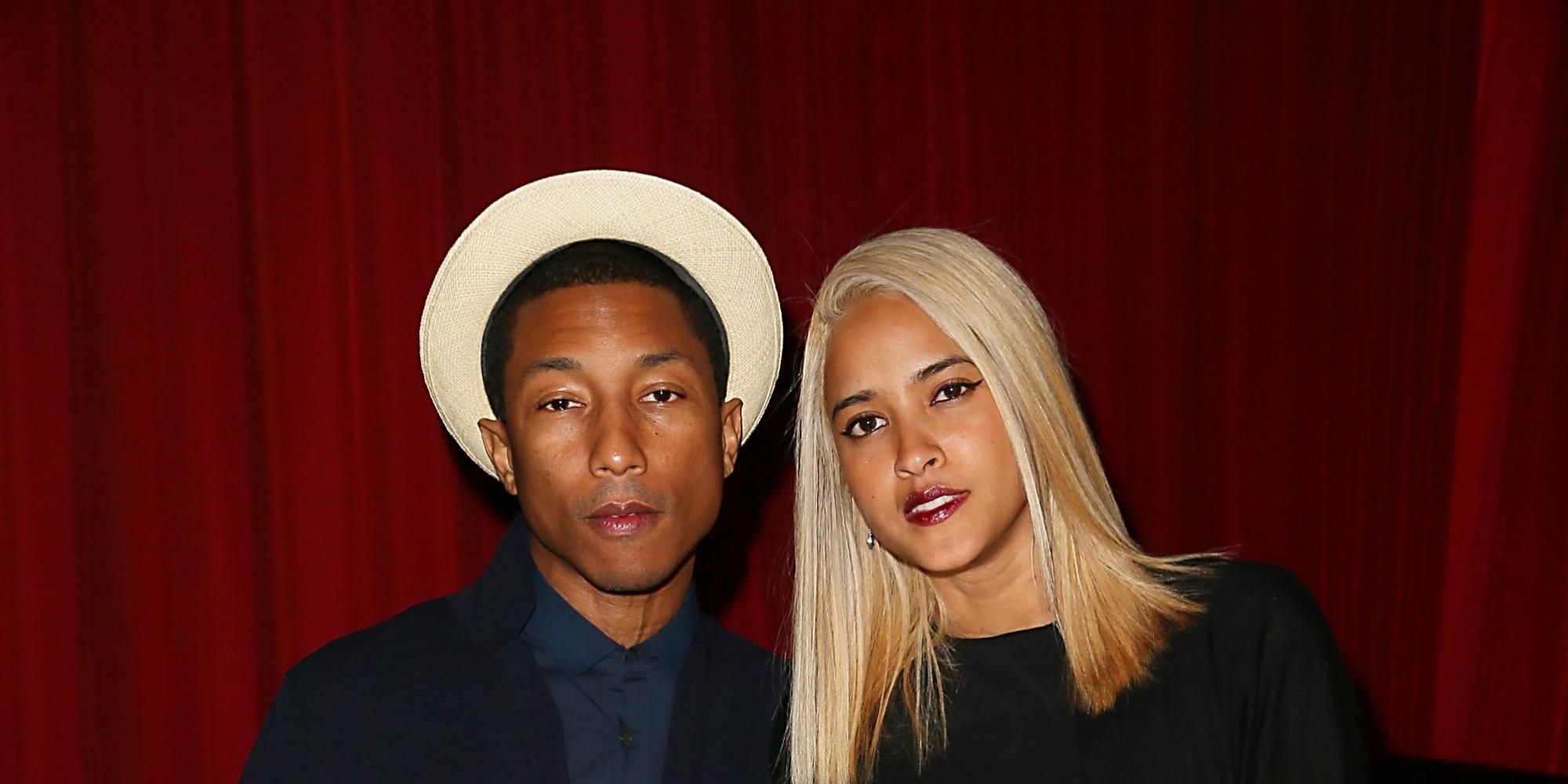 Pharrell Williams, Helen Lasichanh Say 'I Do' In Star