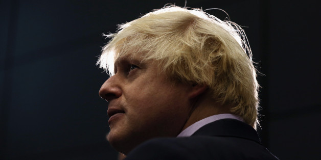 MANCHESTER, ENGLAND - OCTOBER 01:  Boris Johnson, the Mayor of London, is interviewed after delivering his speech in the Main Hall of Manchester Central on the third day, and penultimate day, of the Conservative Party Conference on October 1, 2013 in Manchester, England. David Cameron has unveiled a Government pilot scheme for GP surgeries to open from 8am until 8pm seven days, backed by 50 million GBP of funding.  (Photo by Oli Scarff/Getty Images)