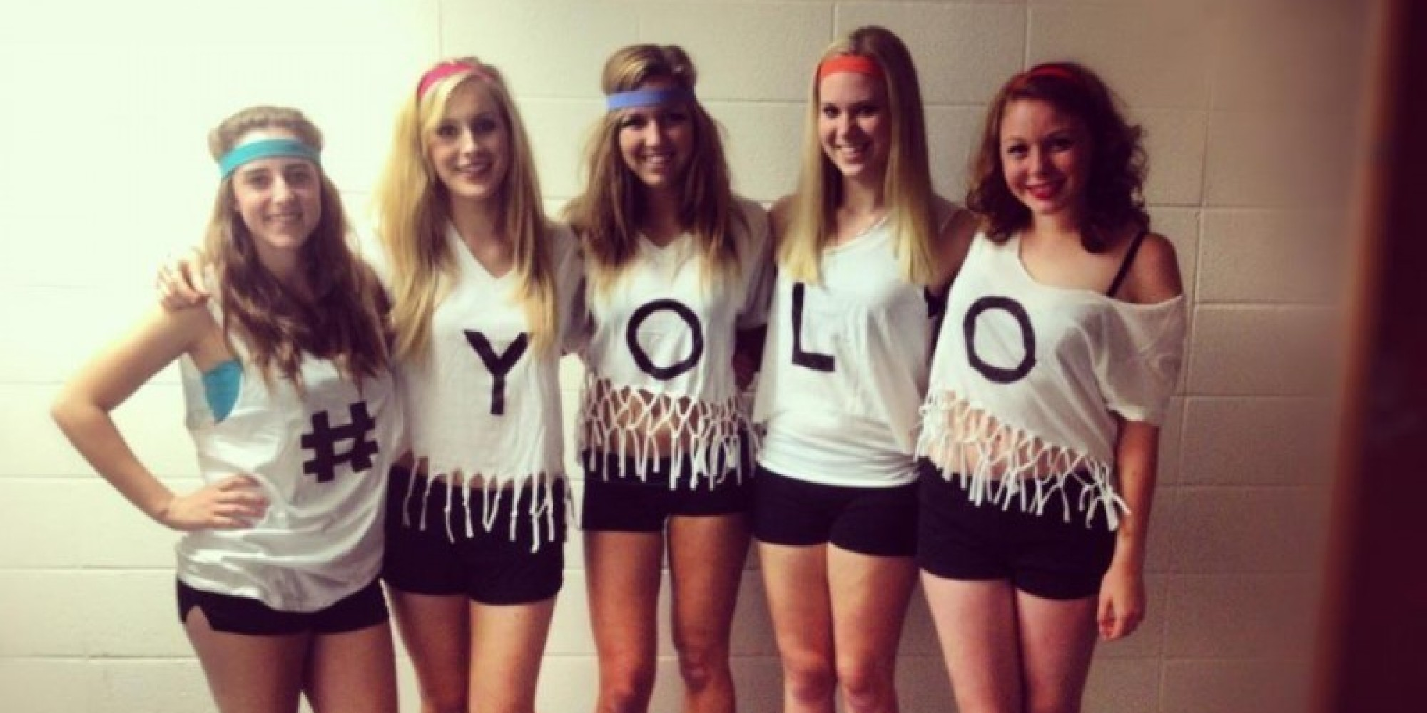teenage girl diy costume ideas. group costume ideas that are cheap, easy and totally diy for halloween (photos) | huffpost teenage girl diy