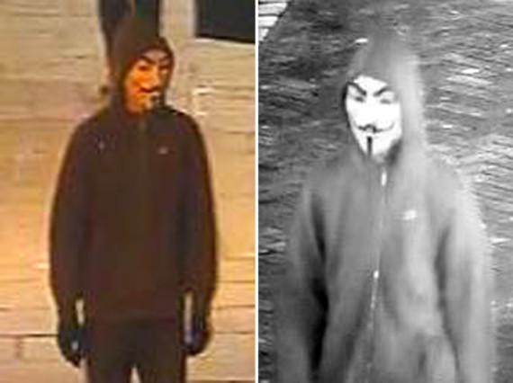 kent police masked men