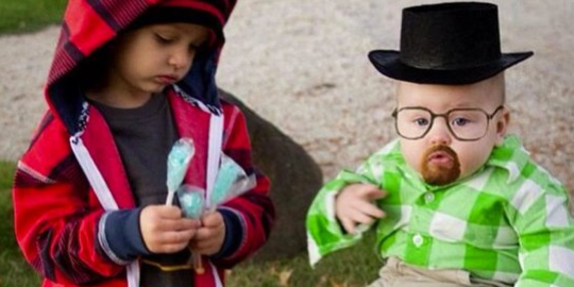 this baby dressed as walter white has the best halloween costume ever picture huffpost uk - Halloween Costume Breaking Bad