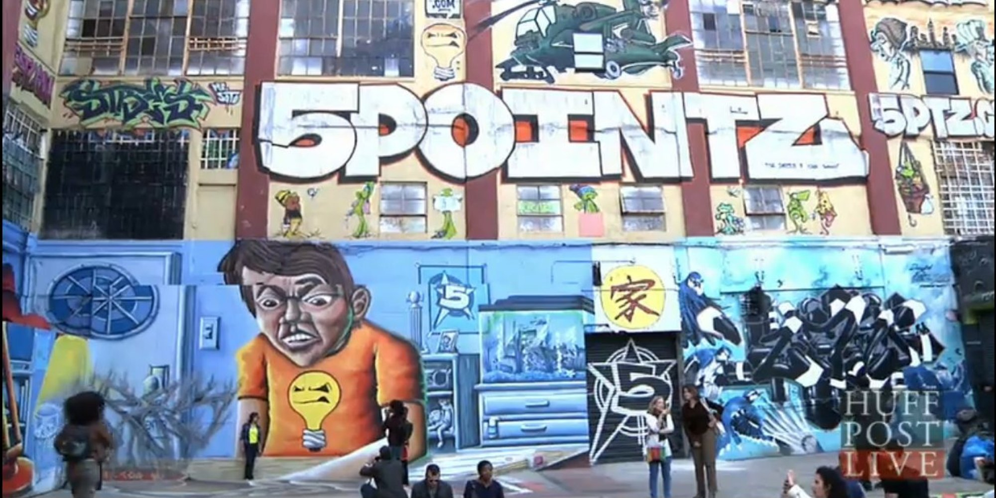Artists mourn impeding demolition of 5 pointz new yorks unofficial graffiti museum video huffpost