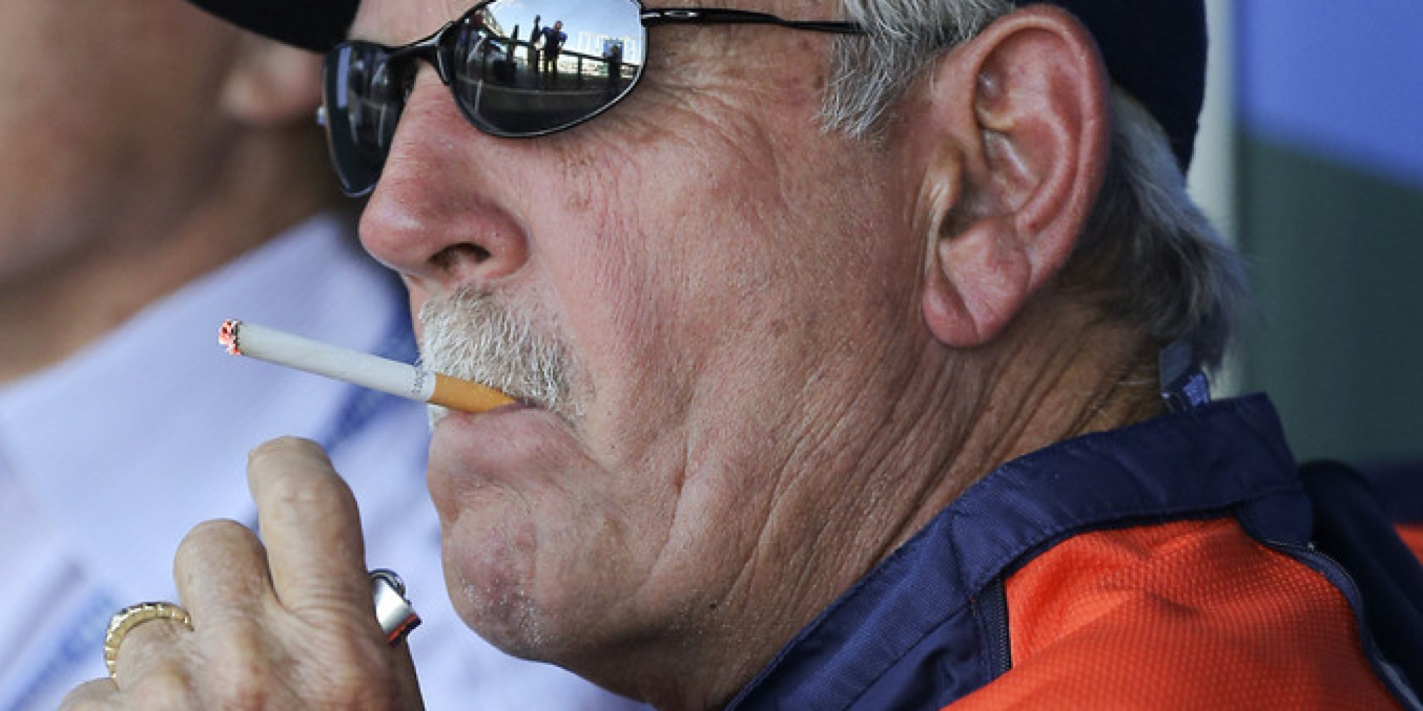 Jim Leyland Was Smoking In Tigers Dugout During Comerica