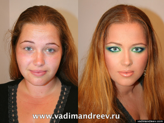 Make Up Artist Reveals Jaw Dropping Before And After Photos Of Women