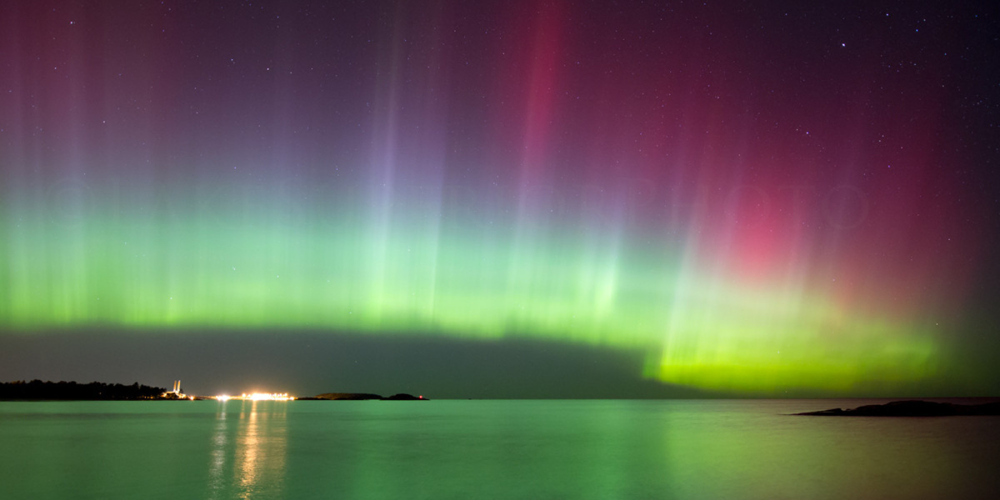 How To See The Aurora Borealis Northern Lights From Michiganu0027s Upper  Peninsula | HuffPost