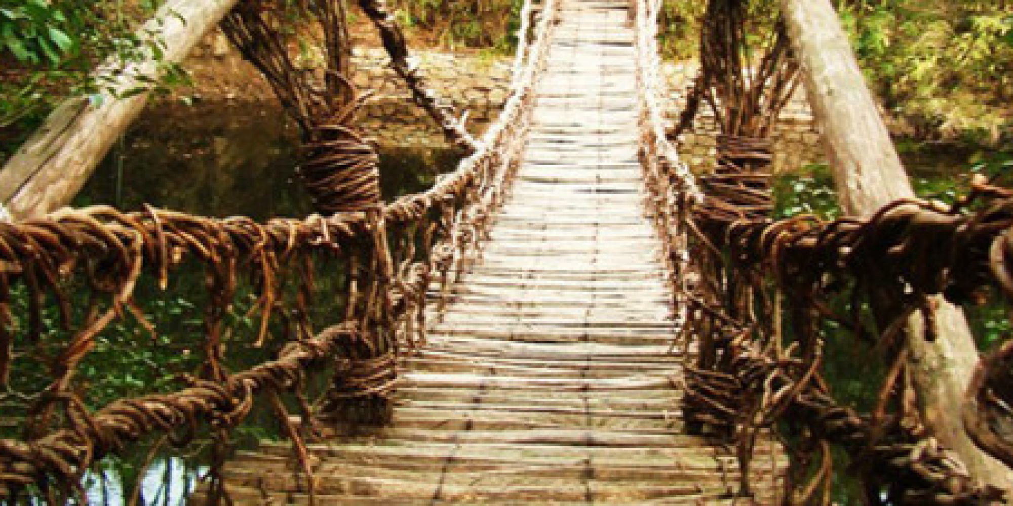 11 Awesome Footbridges Around The World Huffpost