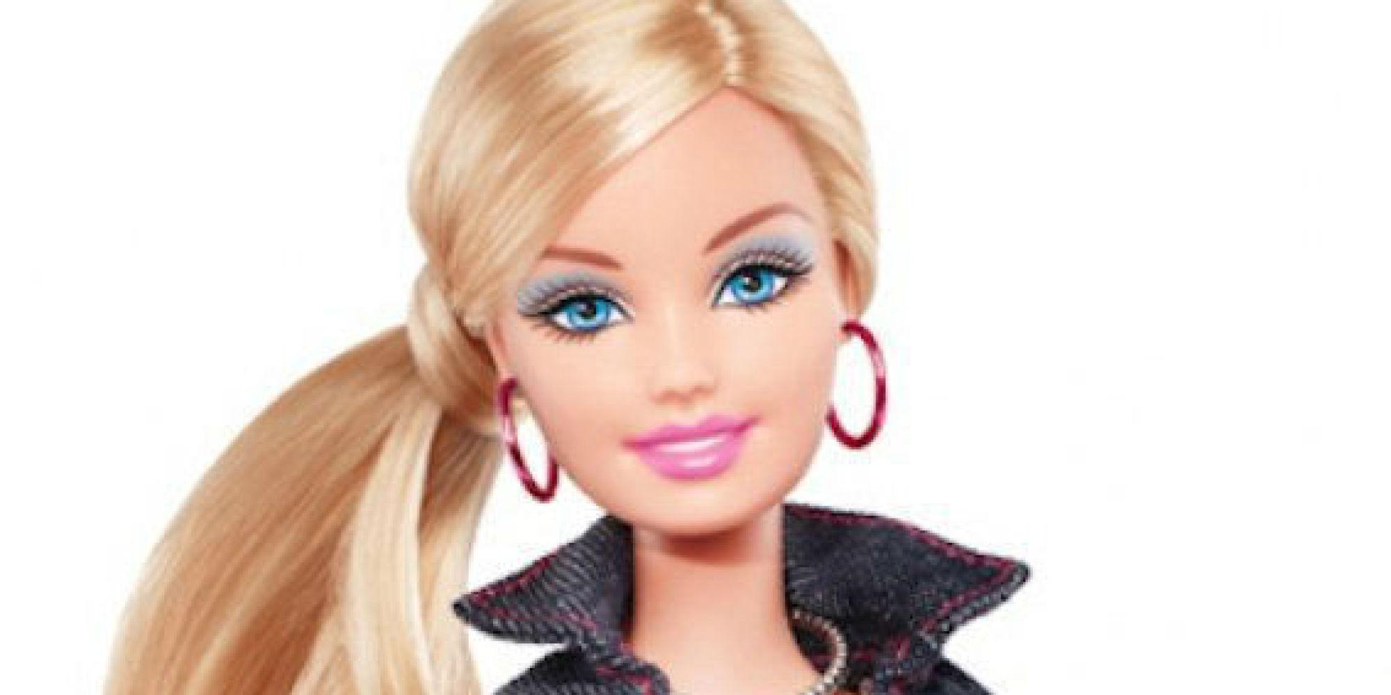 Пошаговое фото макияжа барби