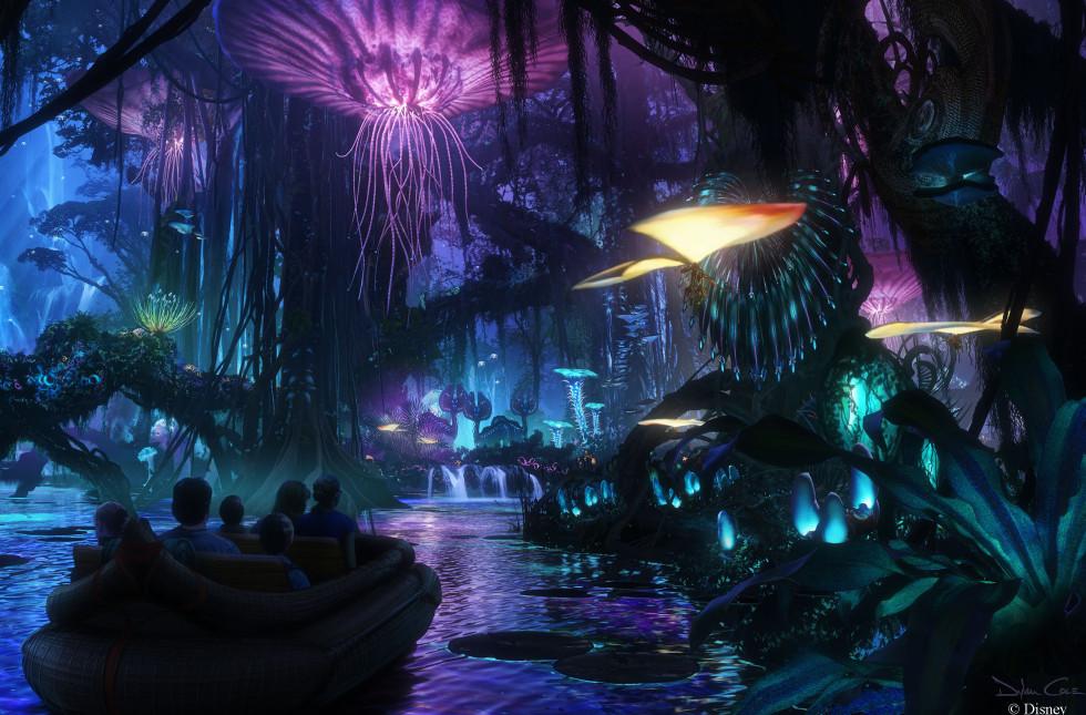 disney world avatar theme park