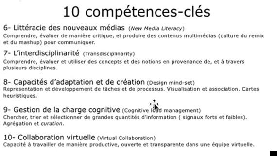 competences cles