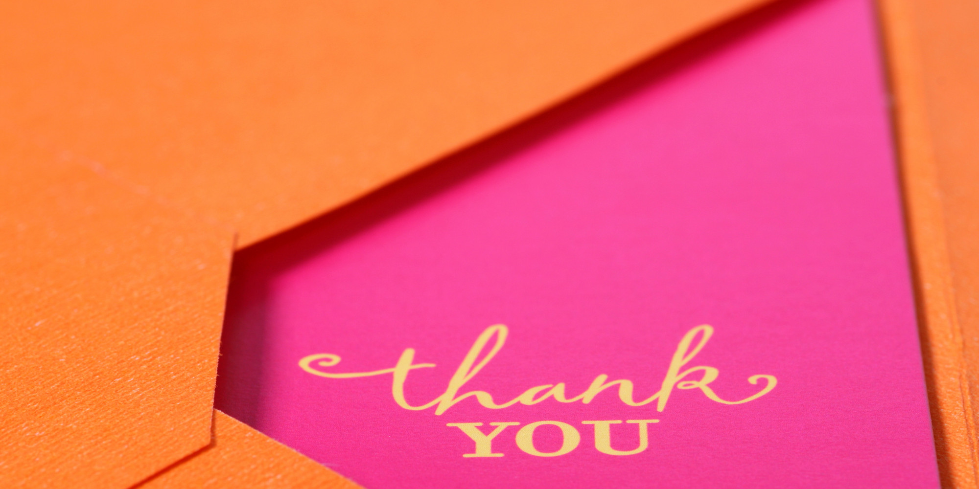 The DoS And DonTs Of An Unforgettable Thank You Note  Huffpost
