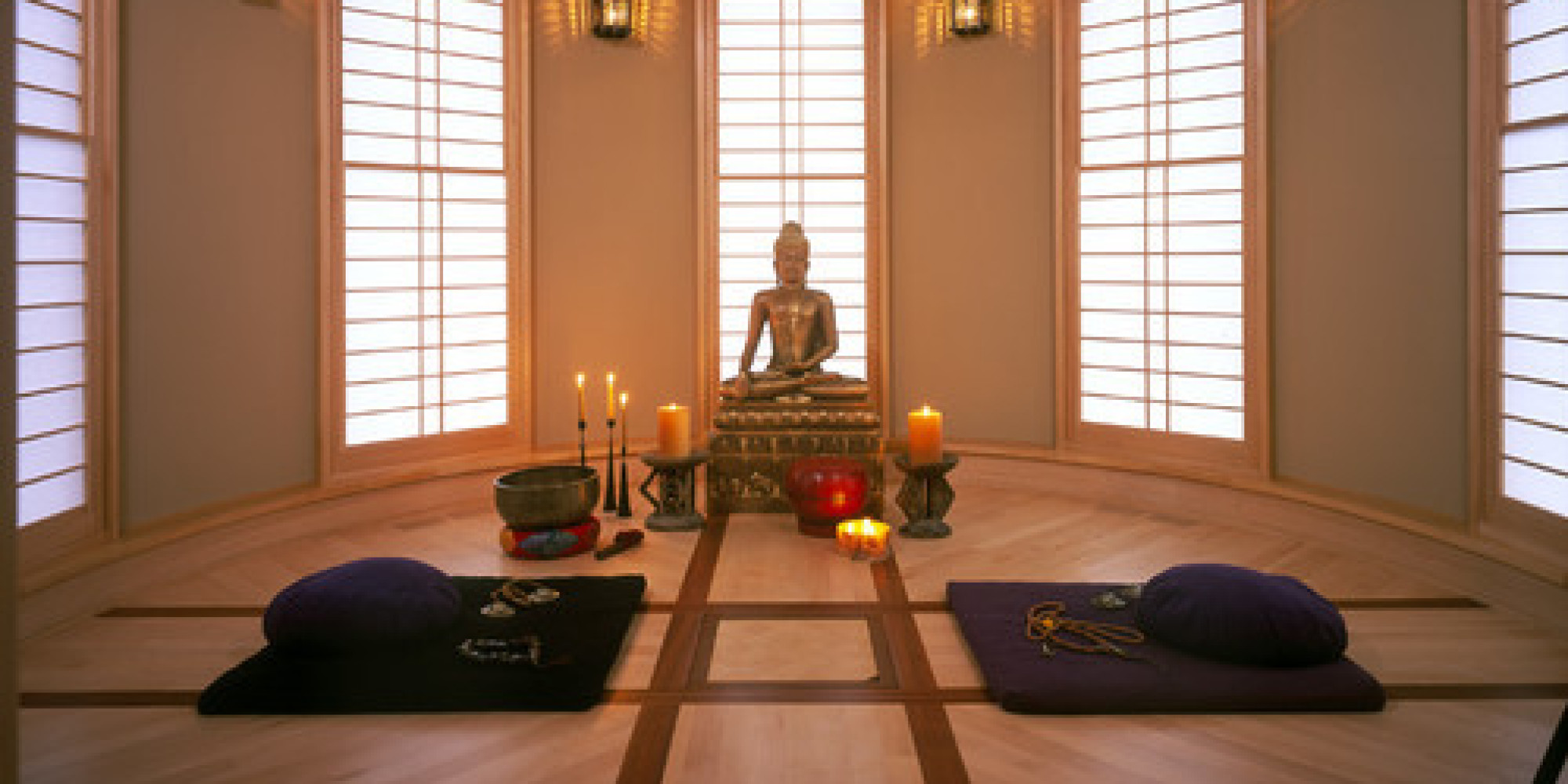 7 spaces that would make great meditation rooms photos for Channel 10 the living room facebook