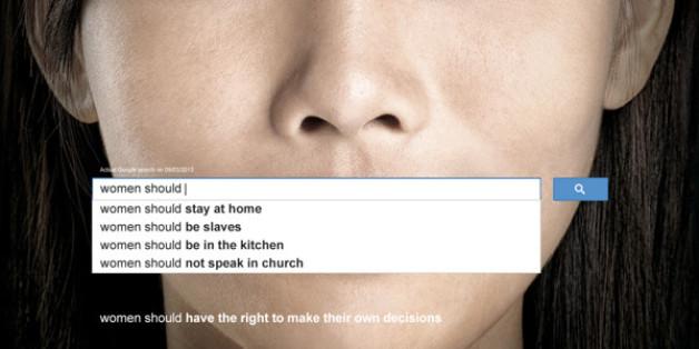 Le sexisme illustré par les recherches populaires sur Google