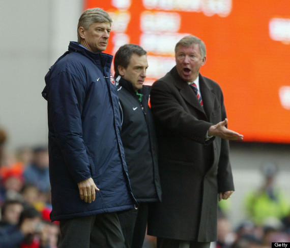 sir alex ferguson arsene wenger