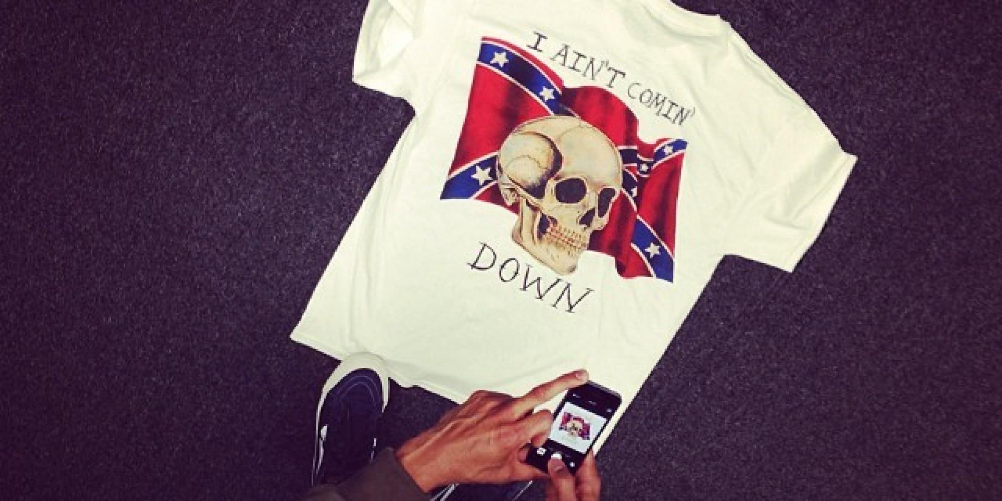 Kanye Confederate Flag Shirt
