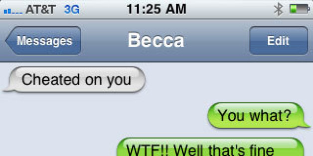 10 text messages that will see you dumped if not flambayed by your