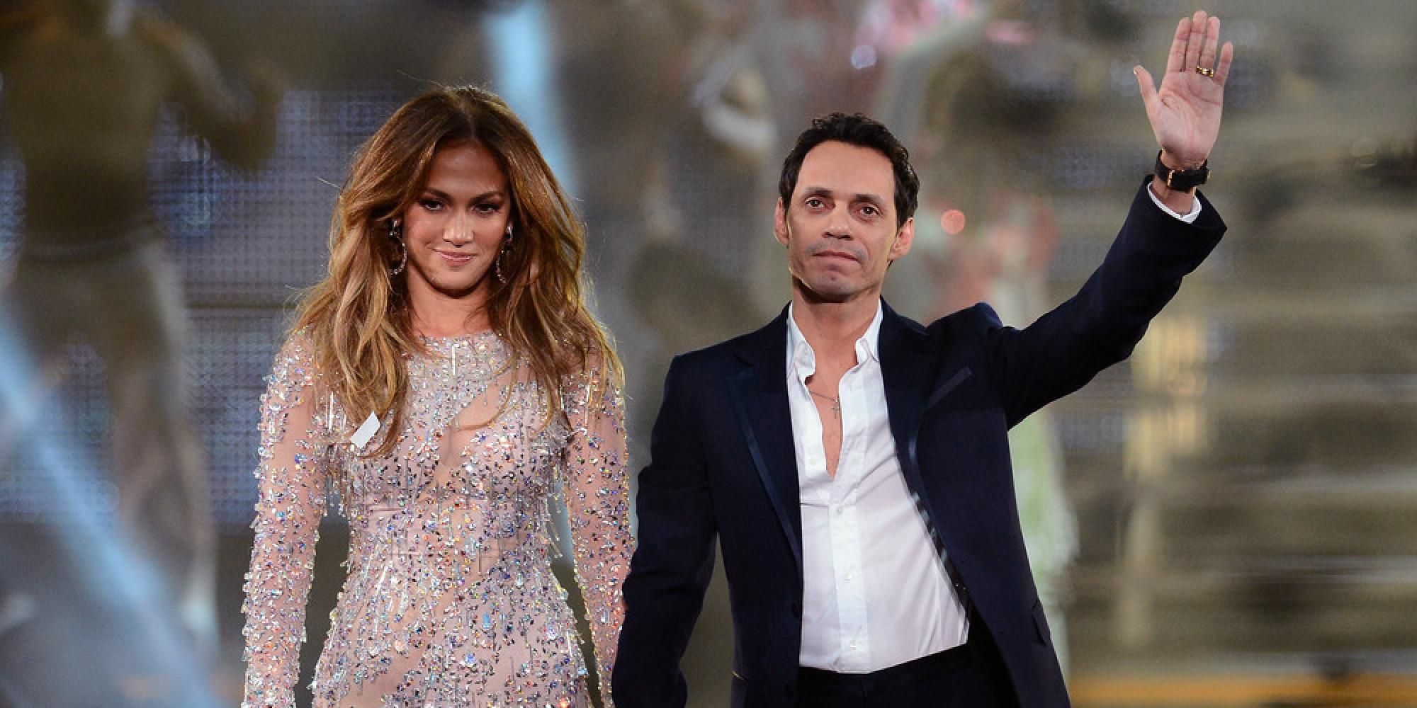 Jennifer Lopez and Marc Anthony Relationship Photos