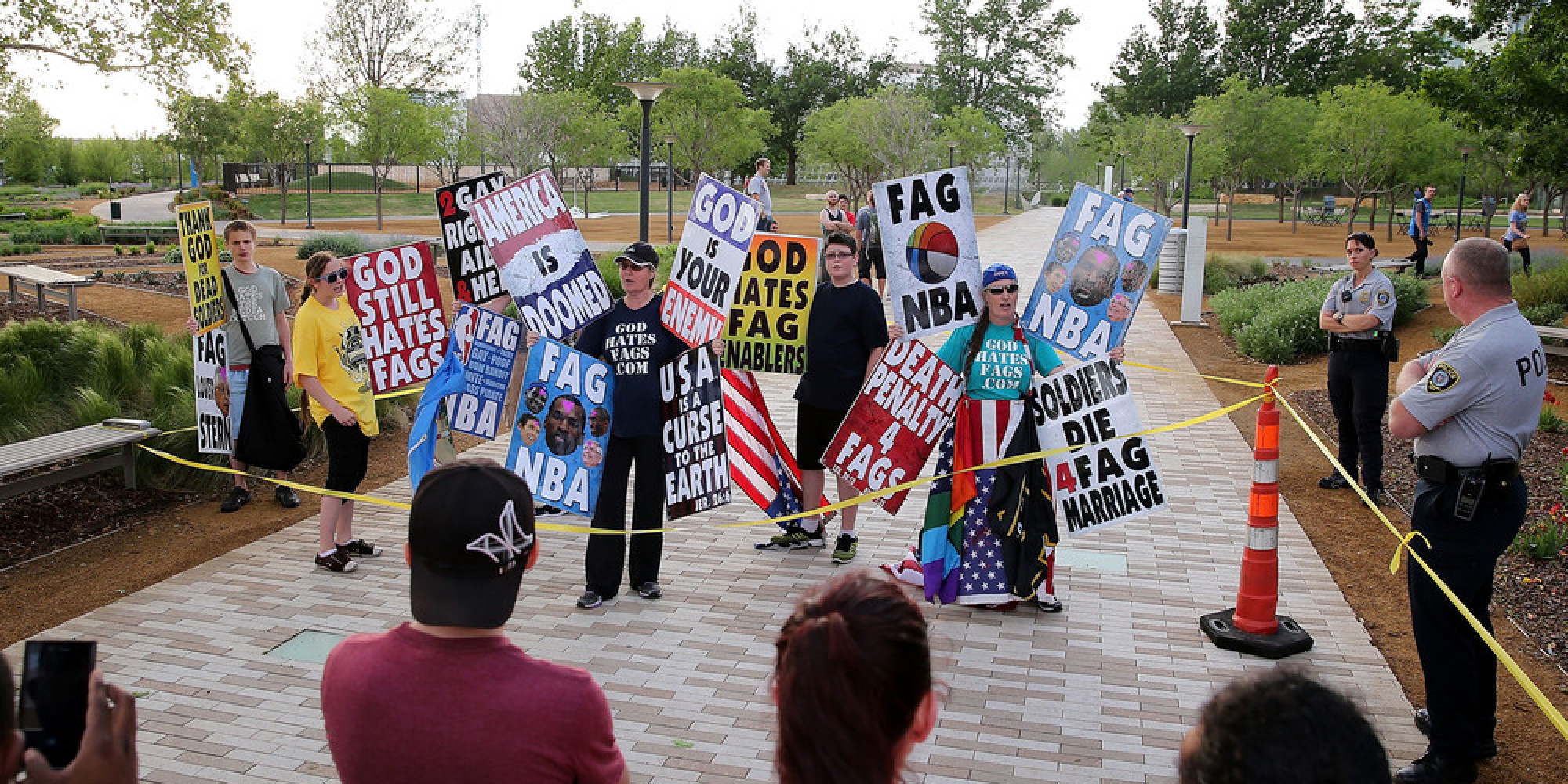 the rights of the westboro baptist church Panic at the disco turn westboro baptist protest into charity drive the hate group recently protested vegas band's concert in kansas city, missouri.