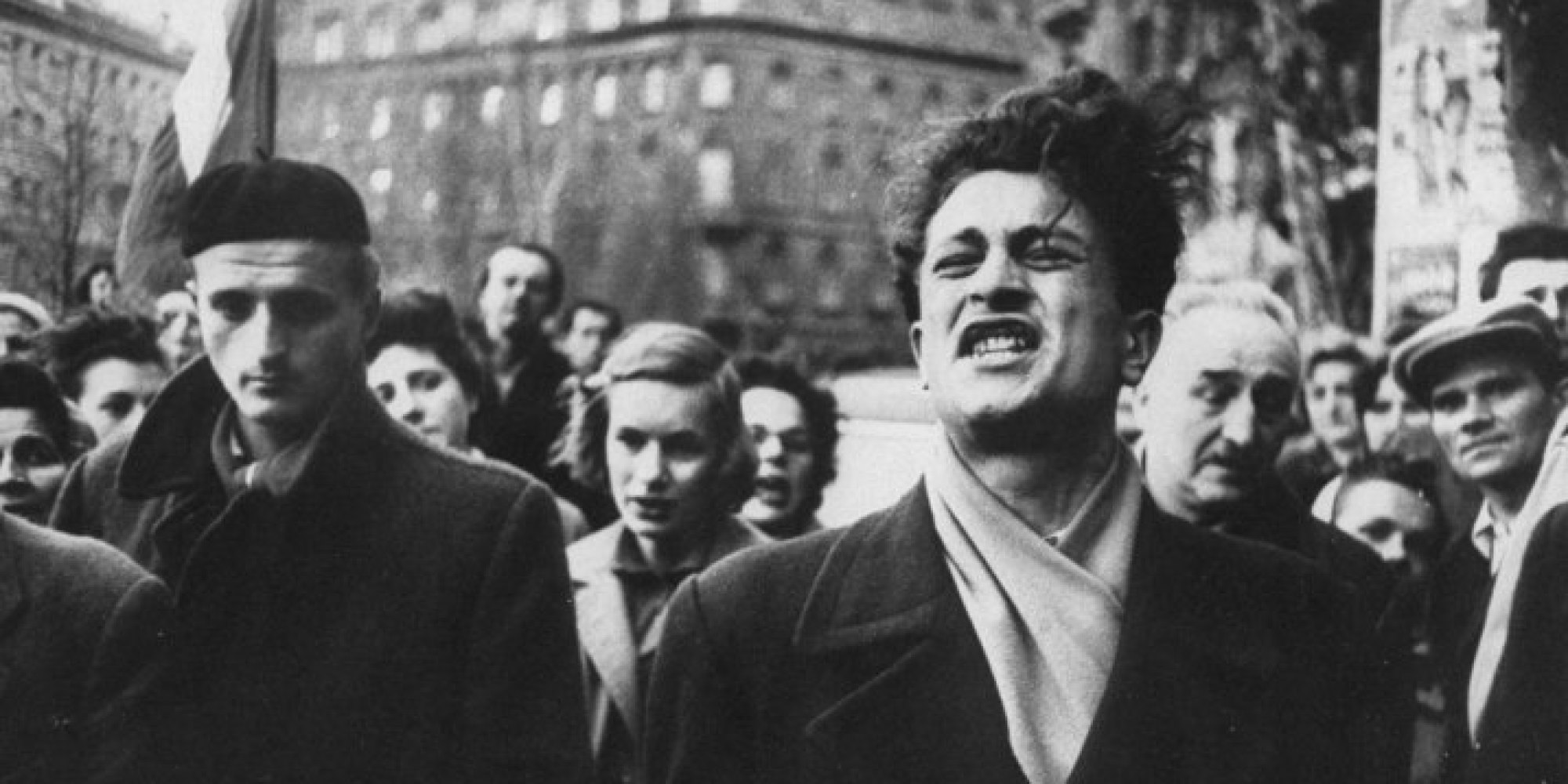 Striking Photos Of 1956 Hungarian Revolution Depict The Collective Power Of  A Soviet-Controlled People | HuffPost