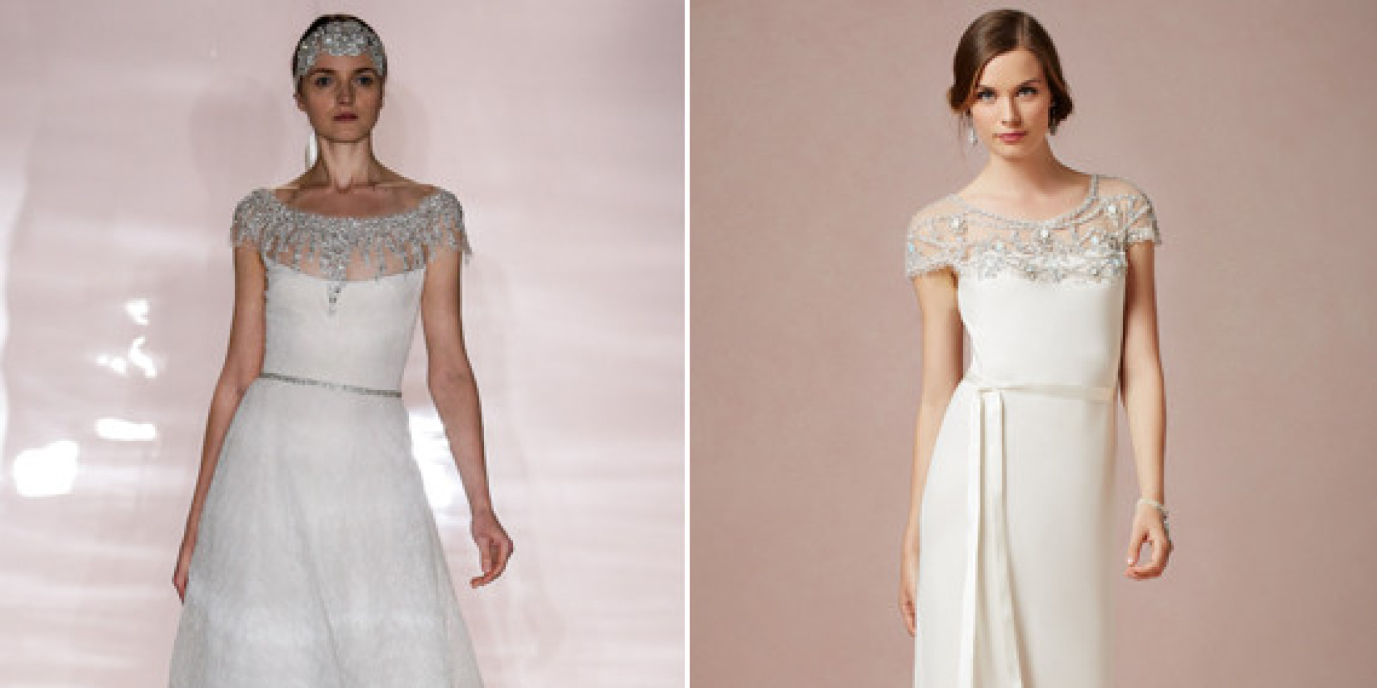 Hot-Off-The-Runway Bridal Looks That Won\'t Blow Your Budget | HuffPost