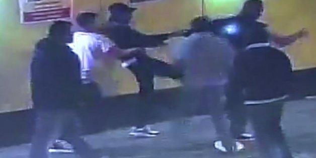 US Student Francesco Hounye Attacked By Asian Gang London Street
