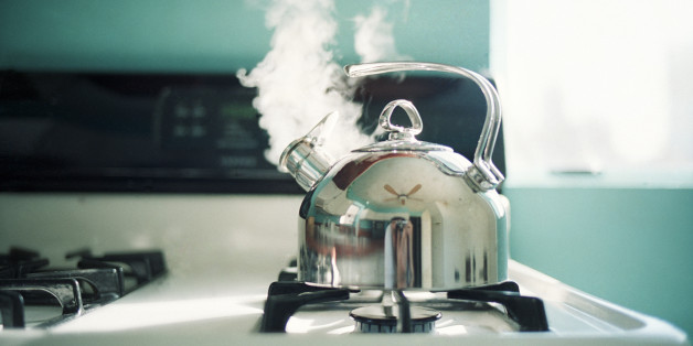 Scientists at the University of Cambridge recently uncovered the physics behind a kettle's whistle.