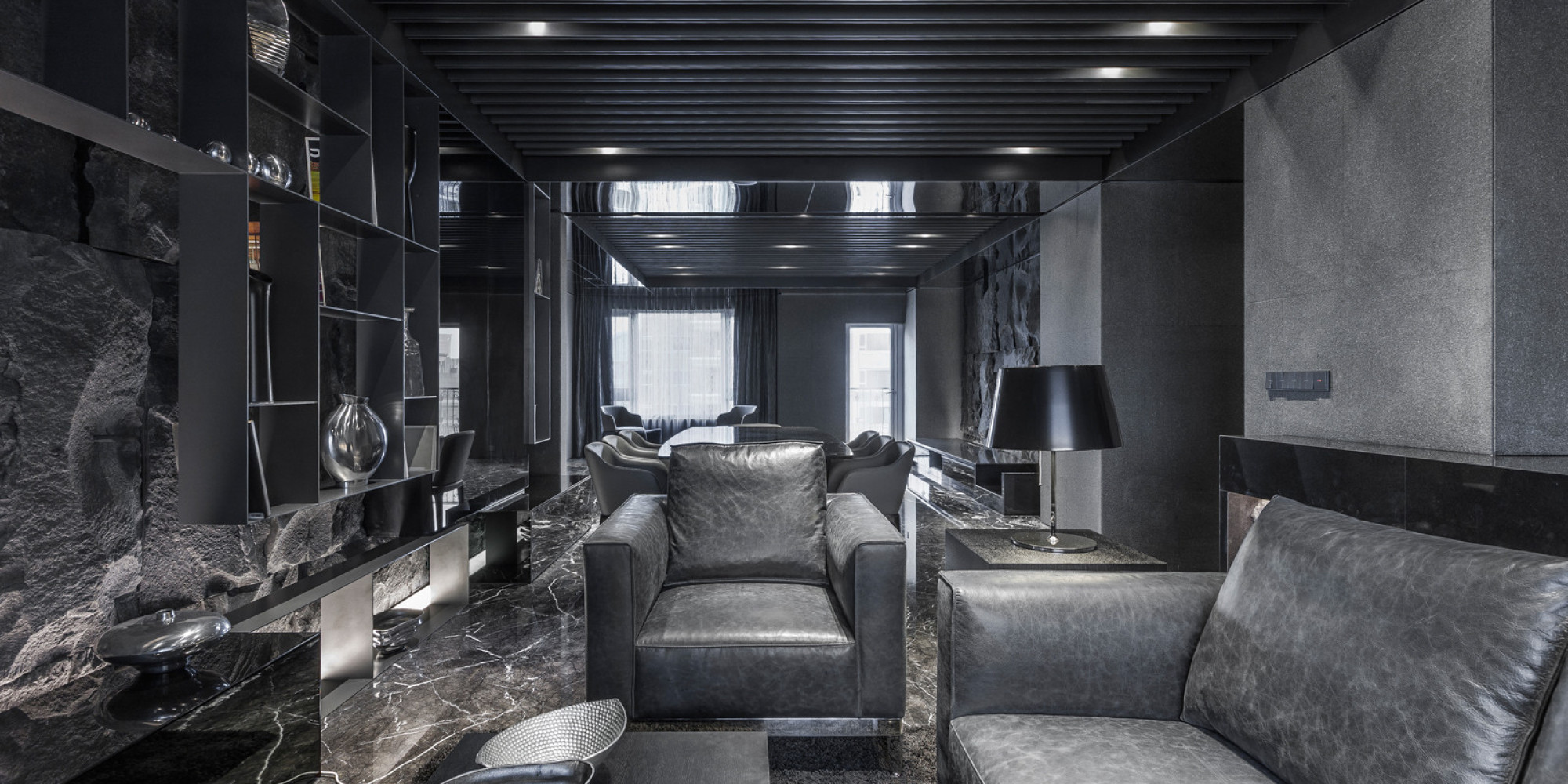 all blacks interior design home design