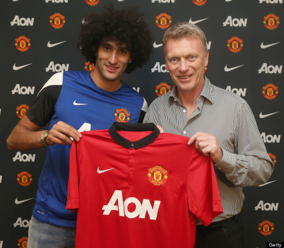 marouane fellaini david moyes
