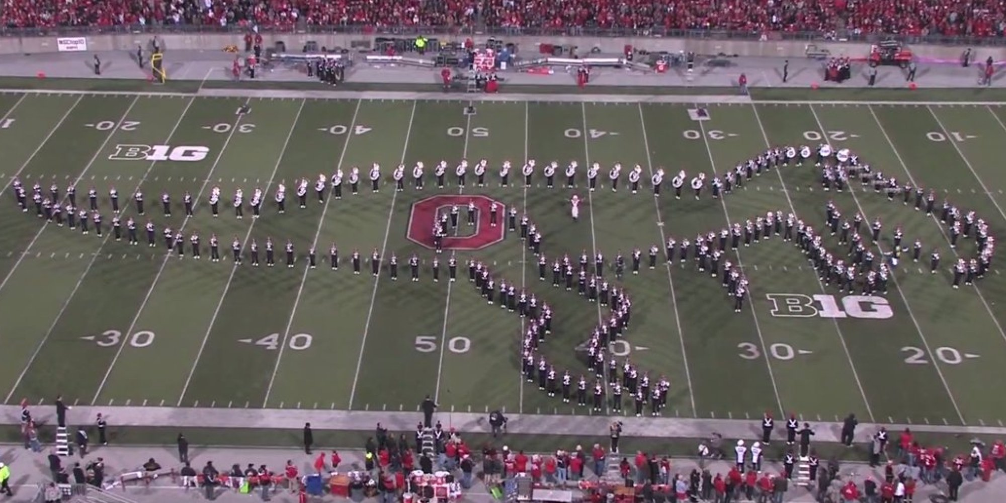 Pull On To Ohio iPads Its Off Marching  State Relies Band