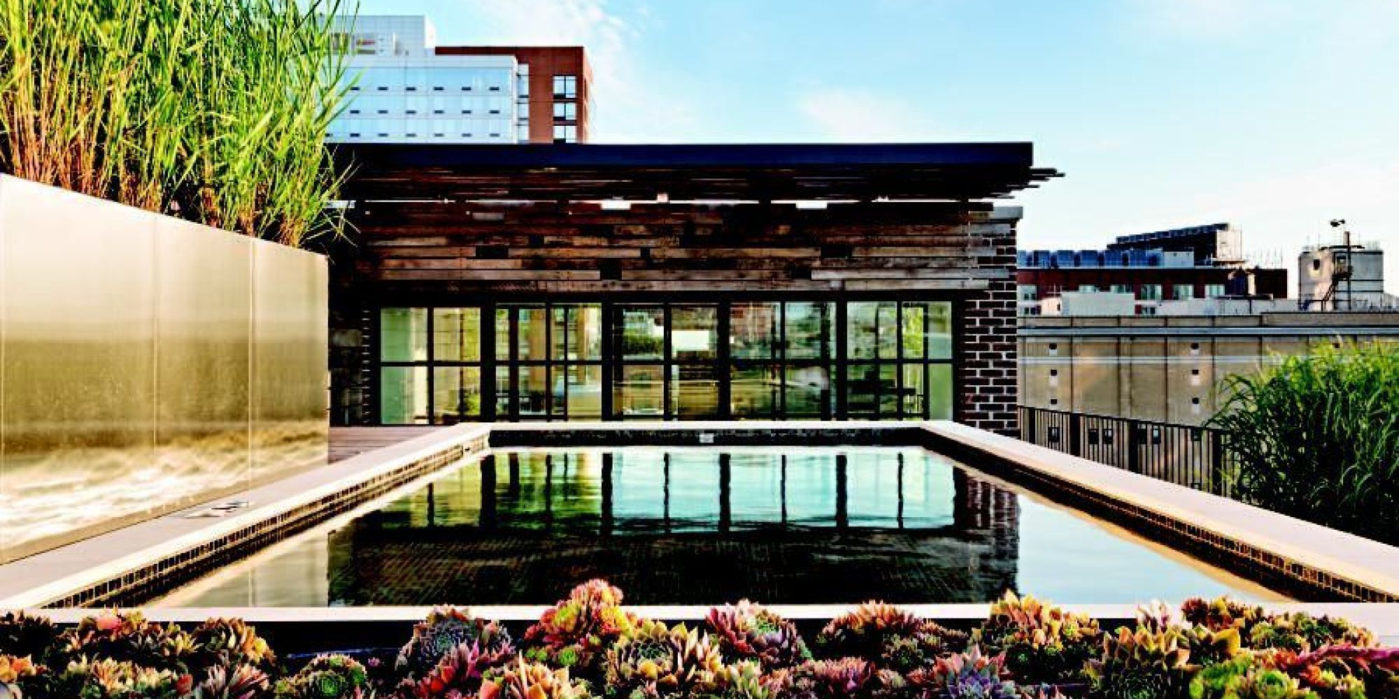 Rooftop Pools Nyc & The James New York