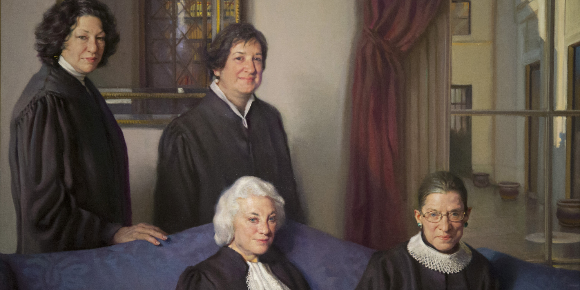 Sandra Day O Connor Quotes The Women Of The Supreme Court Now Have The Badass Portrait They