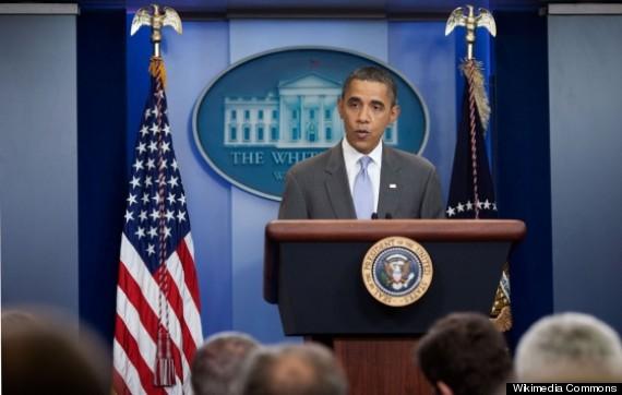 obama press briefing on national debt