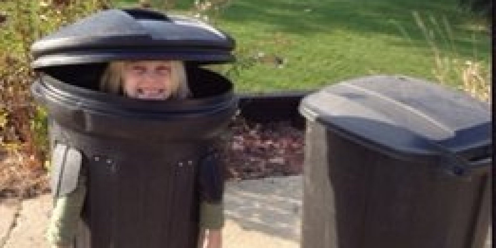 Little Girl Wants To Take The Trash Out ... And Wear It For Halloween |  HuffPost