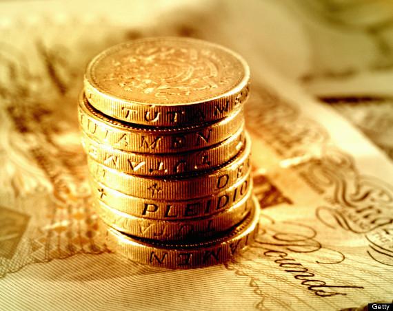 money pound notes