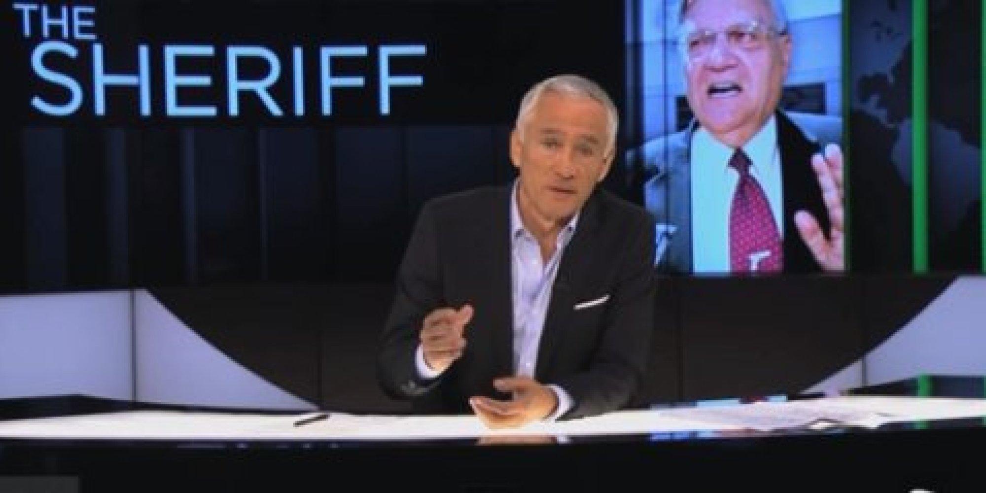 Jorge Ramos y Joe Arpaio en confrontación durante show de televisión ...