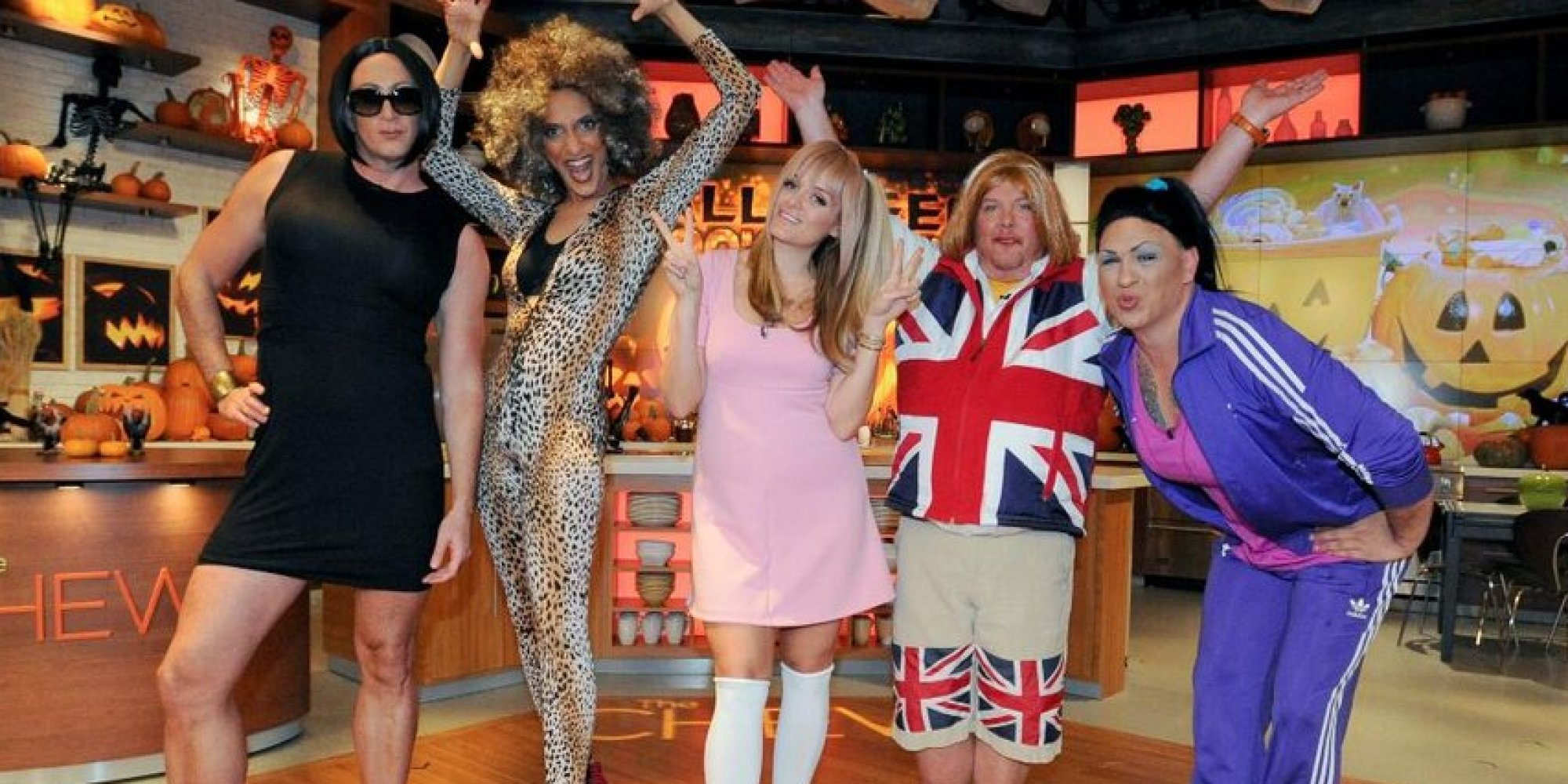 u0027The Chewu0027 Cast Dresses Up As The Spice Girls For Halloween (PHOTOS) | HuffPost  sc 1 st  HuffPost & The Chewu0027 Cast Dresses Up As The Spice Girls For Halloween (PHOTOS ...