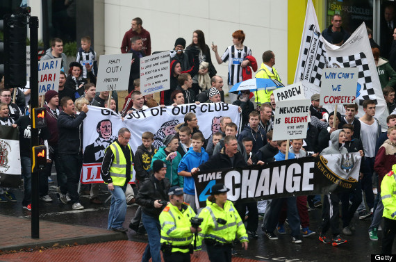 mike ashley newcastle