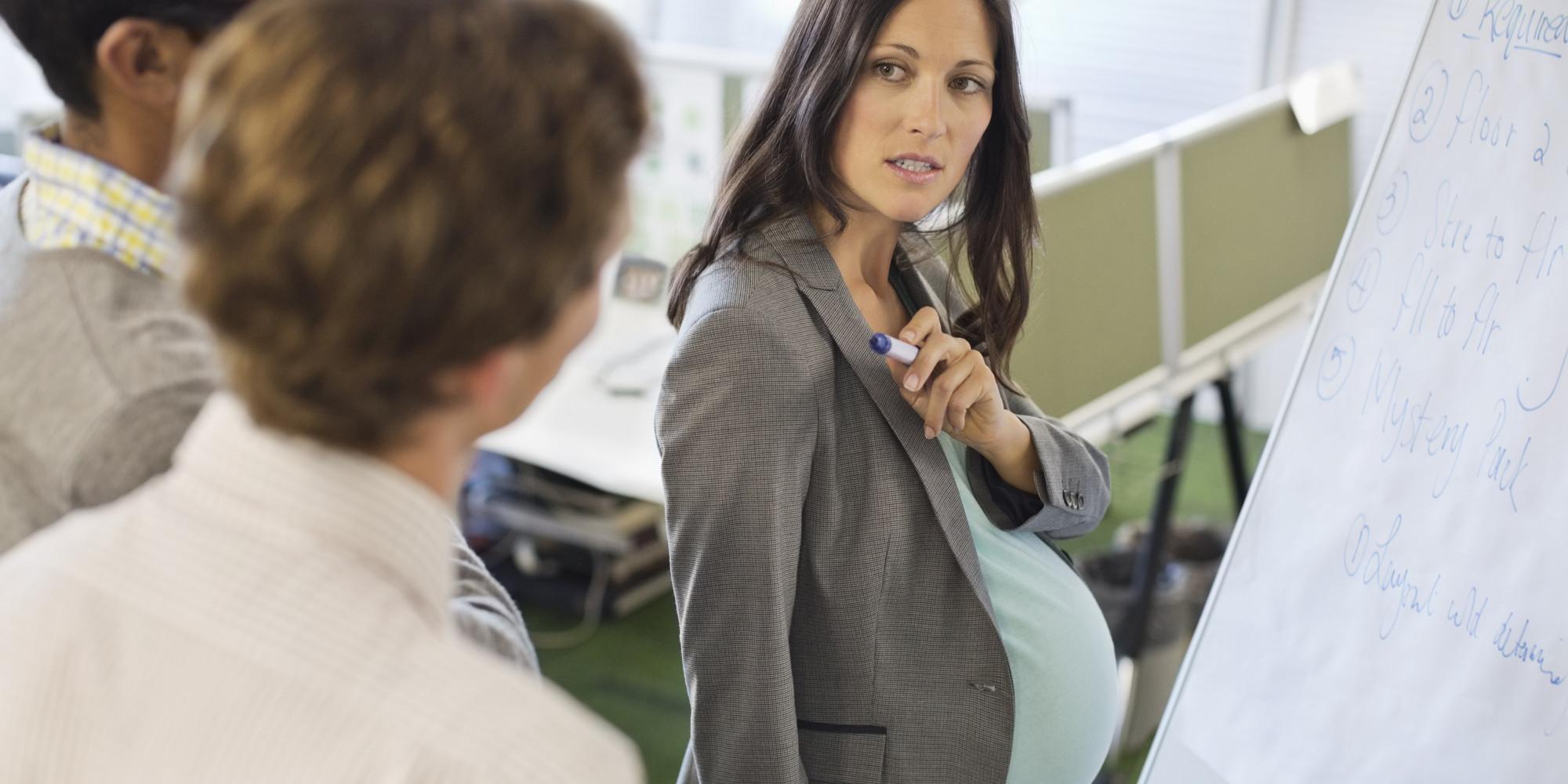Уволить беременную по собственному желанию