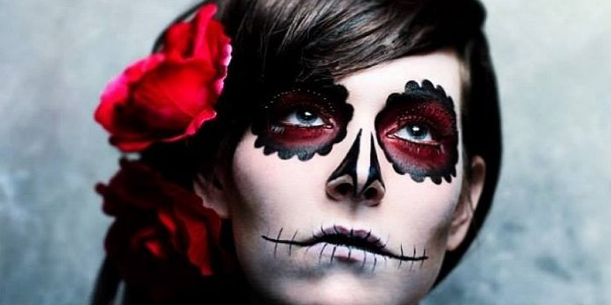 the craziest halloween makeup we saw this year photos huffpost. Black Bedroom Furniture Sets. Home Design Ideas