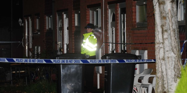Police activity outside the home in Rowena Court in Mountsorrel