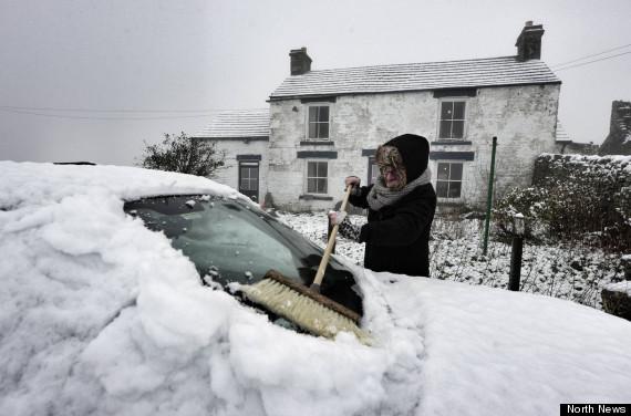 snow uk durham
