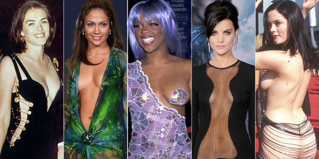 Daring Red Carpet Dresses The Most Revealing Almost Naked Outfits Ever PICS