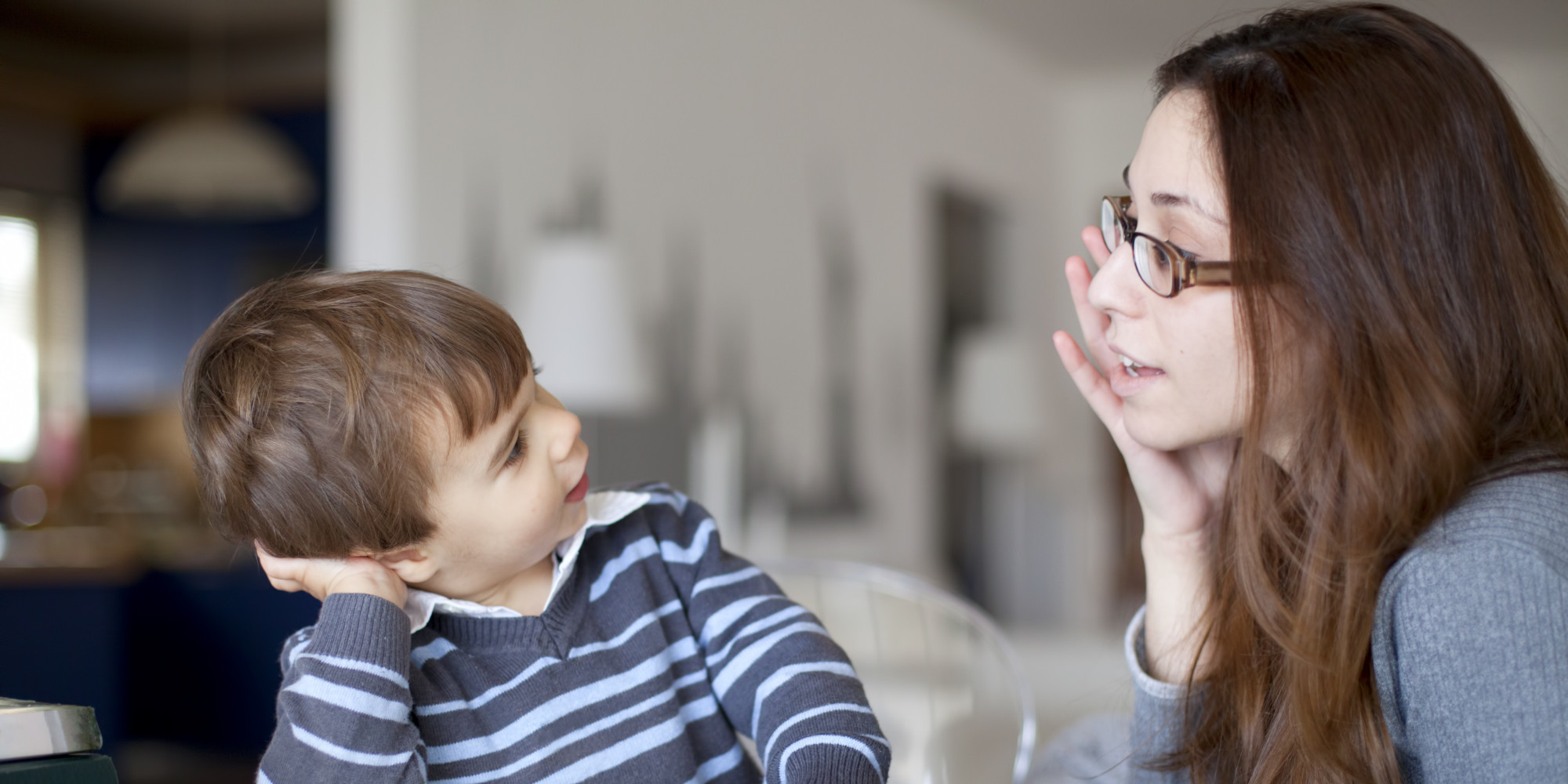 Image result for parents talking to child