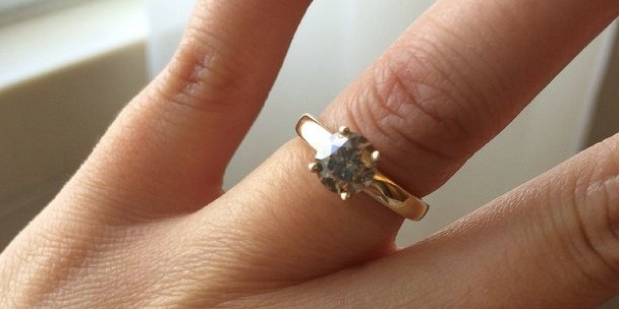 hers gold polish finger his print rings white wedding diy pin and bands actual matching your