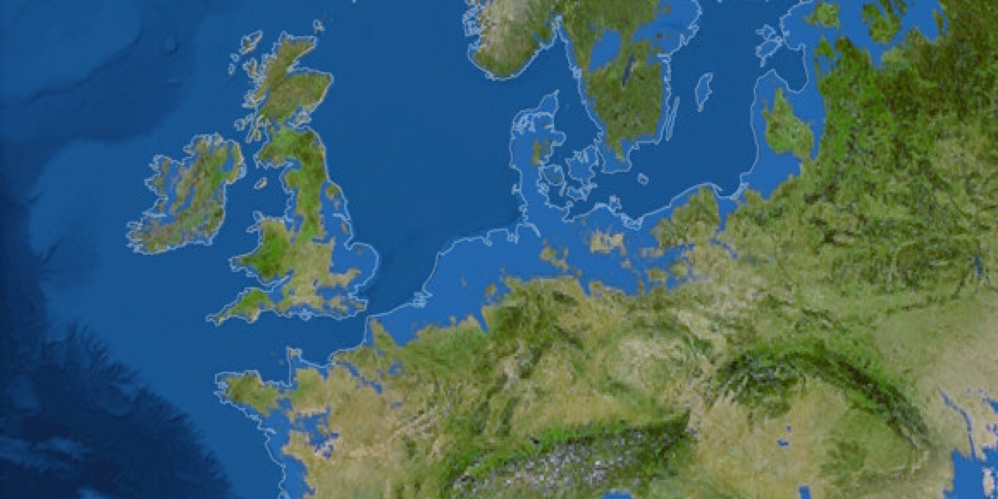 Rising Sea Levels Threaten London Europes Capitals PICTURES - Map of us after ice caps melt