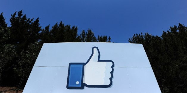 A thumbs up or 'Like' icon at the Facebook main campus in Menlo Park, California, May 15, 2012.  Facebook, the world's most popular internet social network, expects to raise USD $12.1 billion in what will be Silicon Valley's largest-ever initial public offering (IPO) later this week.   AFP PHOTO / ROBYN BECK        (Photo credit should read ROBYN BECK/AFP/Getty Images)