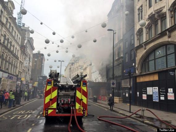 fire oxford street